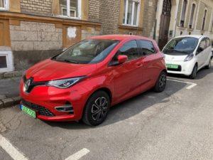 Bérelhető Renault ZOE 52 kWh